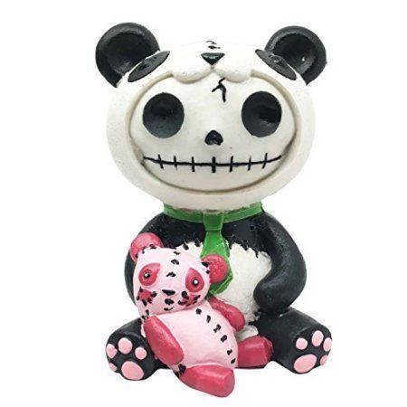 Pandie Panda Furry Bones Plush Stuffed Animal Doll Small