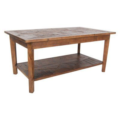 Alaterre Revive Reclaimed Natural Coffee Table Arva1120