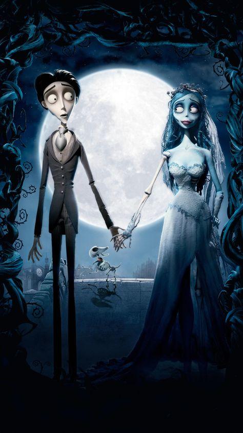 Corpse Bride (2005) Phone Wallpaper | Moviemania
