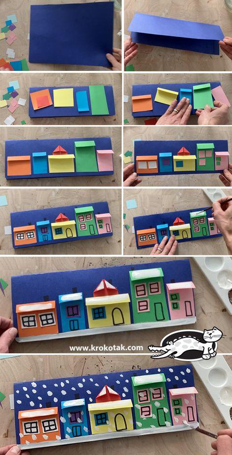Kindergarten Art, Preschool Crafts, Fun Crafts, Paper Crafts, Christmas Crafts For Kids, Kids Christmas, Holiday Crafts, Winter Art Projects, School Art Projects