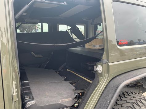 Have A Jeep Wrangler Must See This Hammock Sunshade Cargo Cover