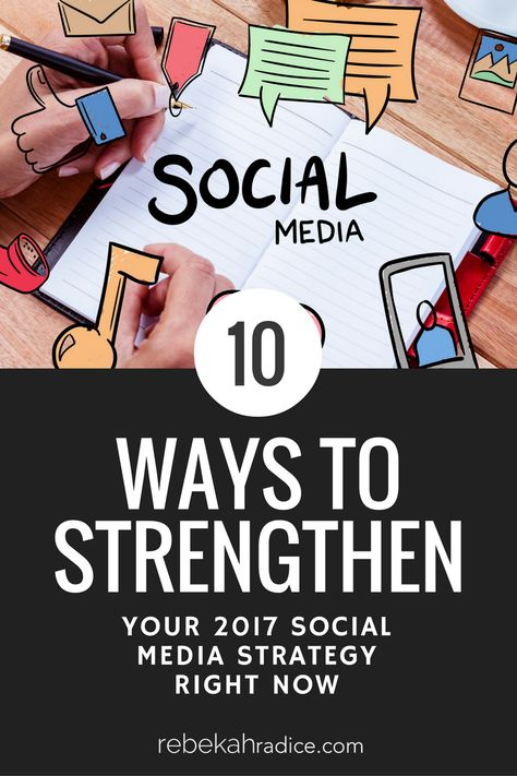 How to Strengthen Your Social Media Strategy Right Now
