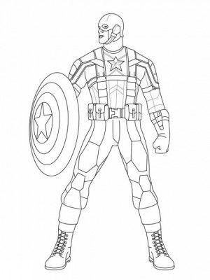 ร ปภาพการ ต นระบายส ร ปภาพระบายส สวยๆสำหร บเด ก โหลดได ท น Marvel Coloring Captain America Coloring Pages Superhero Coloring
