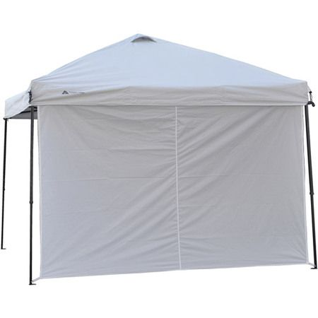 Ozark Trail Sun Wall Panel Fits For 10 X 10 Straight Leg Canopy White Accessory Only Walmart Com Gazebo Ozark Trail Canopy Gazebo Accessories