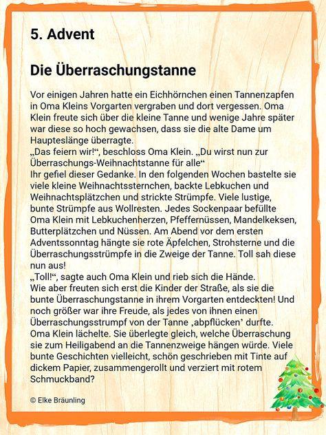 Adventsgeschichte Fur Senioren Winterzeit Weihnachten Geschichte Adventgeschichte Weihnachten Text