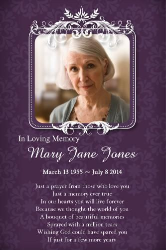 Memories Memorial Cards For Funeral Memorial Cards Funeral Card Messages