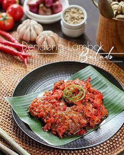 Resep Masakan Nusantara Dendeng Lambok Balado Dendeng Resep Masakan Resep