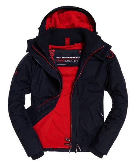 Superdry Tech Hood Pop Zip Windcheater Giacca Sportiva Uomo