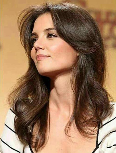 Katie Holmes Frisuren Haarschnitt Frauen Haarschnitt