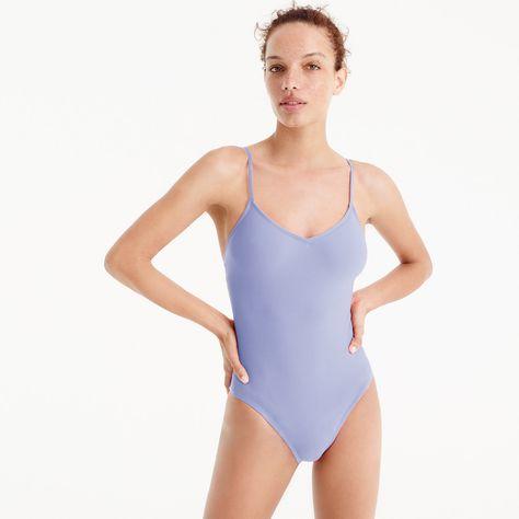 acff65a19d J.Crew Womens Ballet One-Piece Swimsuit (Size 10)