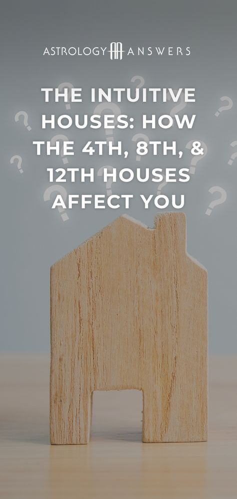 What do you intuitive houses say about you? #astrologyanswers #astrology #4thhouse #8thhouse #12thhouse #birthchart #birthchartastrology