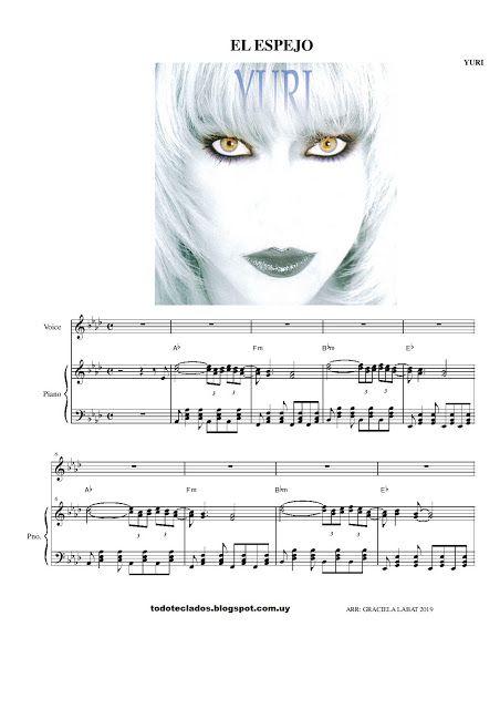 El Espejo Yuri Letras Y Acordes Carole King John Legend