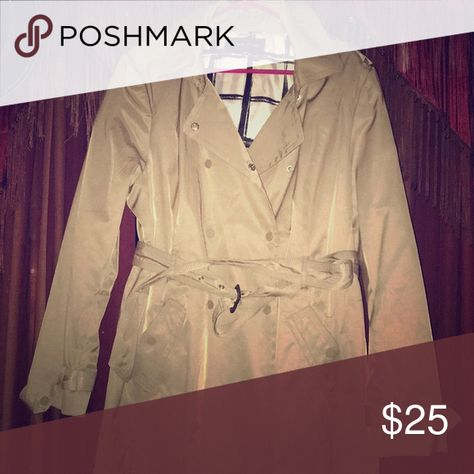 e9c7dfea4e79 Women s Raincoat size XXL Women s khaki raincoat with belt. Size XXL. Never  used. Black Rivet Jackets   Coats  WomensluxuryRaincoat