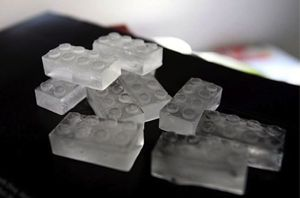 Lego Shaped Ice Tray