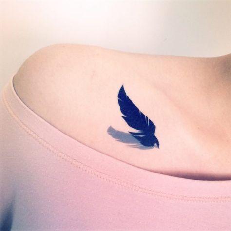 List Of Pinterest Sleutelbeen Tattoo Vogel Images