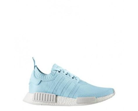 f1bd03204e75 BY8763 Adidas NMD R1 France Primeknit Womens Sneakers Ice Blue Ice  Blue Running White