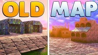 Building The Old Fortnite Map Fortnite Custom Game Old Map Map Old Things