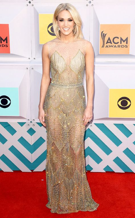 Carrie Underwood from Best Dressed Stars at the ACM Awards
