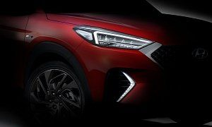 2020 Hyundai Tucson N Line Teased Available With Mild Hybrid Turbo Diesel Supposed To Arrive By The End Of 2019 Cars Au Hyundai Tucson Tucson Suv Hyundai