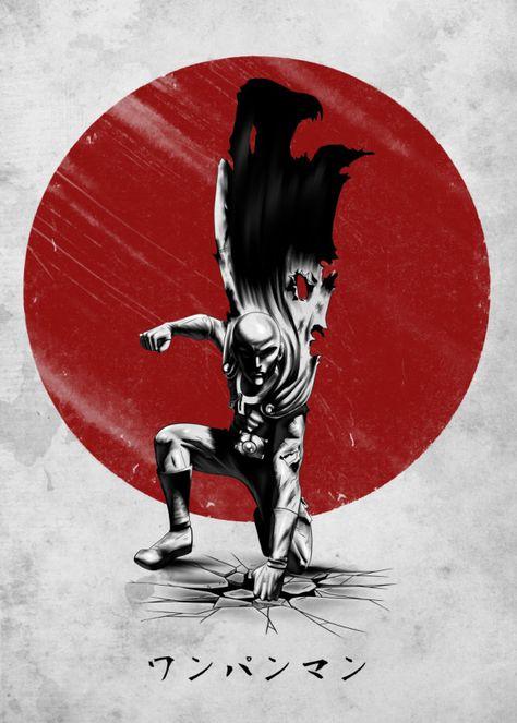 Kenshiro Anime & Manga Poster Print | metal posters | Anime