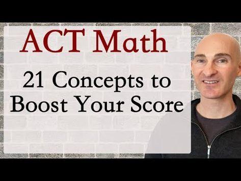 Best ACT Math Prep Strategies, Tips, and Tricks - Work Faster at the Beginning Act Math, Math Test, School Counselor, School Teacher, Best Act Prep Book, Act Study, Act Test Prep, School Study Tips, Study Skills