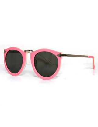 f17a413ad1c7 Somebody call Elle Woods, quick—we think she's misplaced her shades. Karen  Walker eyewear harvest pink, $280, gargyle.com
