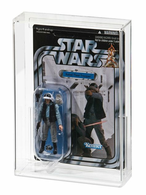 Carded D Star Wars  Display Case for Carded Action Figures