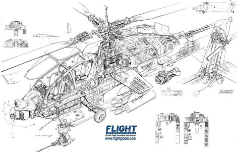ah 9 helicopter diagram - Google Search