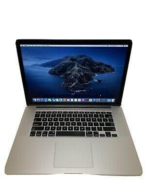 Apple Macbook Pro Retina 15 2015 Intel I7 2 8ghz In 2020 Apple Macbook Pro Retina Apple Laptop Apple Macbook