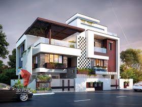Ultra Modern Home Designs Home Designs Excellent 3d Architectural Designin House Architecture Design House Architecture Styles Modern Exterior House Designs