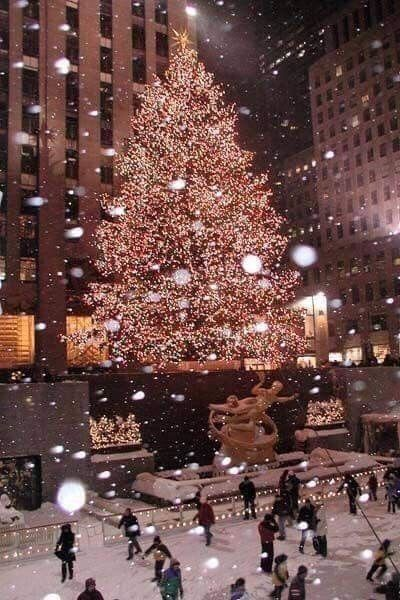 Albero Di Natale New York.Pin By Lady Chatterley On I M In A New York State Of Mind Xmas Wallpaper New York Christmas Christmas Aesthetic