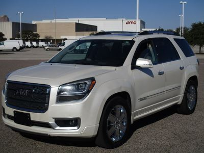 2013 Gmc Acadia Denali Awd White Suv 12 Doors 15500 To View More Details Go To Https Www Ecarspro Com Inventory Vie Suv My Dream Car Dream Cars