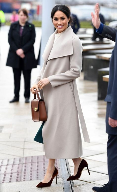 Meghan Markle Photos - Prince Harry and Meghan Markle during a visit to Titanic Belfast maritime museum on March 2018 in Belfast, Nothern Ireland. - Prince Harry And Meghan Markle Visit Northern Ireland