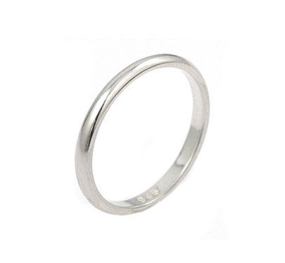 925 Solid Sterling Silver Ring Plain Silver Beautiful Ring