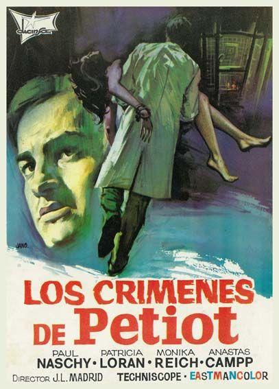 Los Crímenes De Petiot 1973 De José Luis Madrid Tt0068430 Posters De Peliculas Del Recuerdo Crimen Carteles De Cine Y Cine