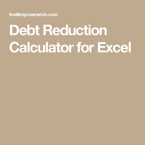 Karmen Bufford-Trice (karmentrice) on Pinterest - free debt calculator and spreadsheet from vertex