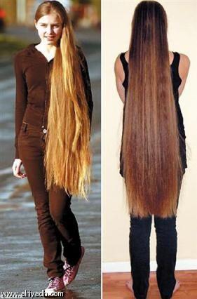 Imagenes el pelo mas largo del mundo