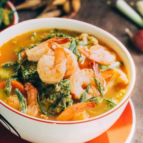 Soupe thaï crevettes au thermomix