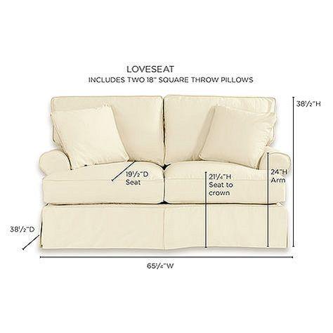 Incredible Davenport Loveseat Slipcover Special Order Fabrics Machost Co Dining Chair Design Ideas Machostcouk