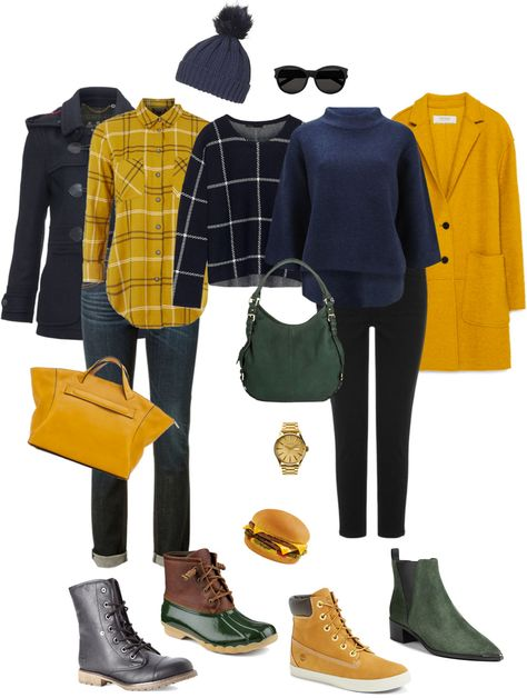 Ensemble: Casual Mustard With Jeans