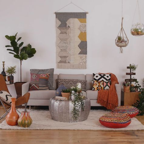 Design indecisive? Have no fear! We're teaming up with Zillow to show you how to design one simple living room three beautiful ways! Sponsored by Zillow.
