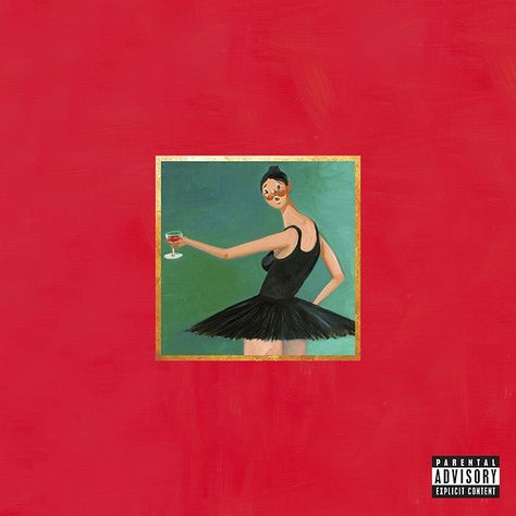 My Beautiful Dark Twisted Fantasy, Kanye West - Kanye's finest, quite frankly one of the best produced albums ever