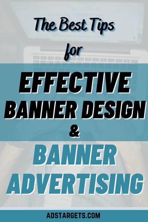 Effective Banner Design and Banner Advertising