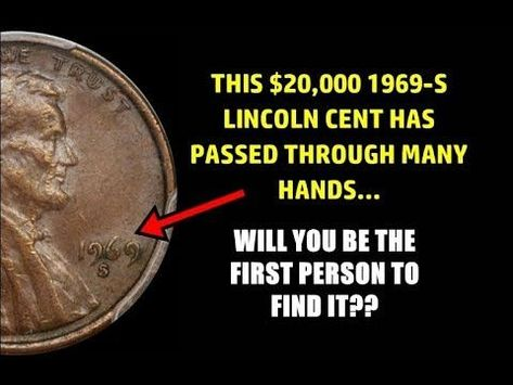 Photo of 1969-S Doubled Die Lincoln Pennies Hit The Auction Block – $86,000 Estimates!!