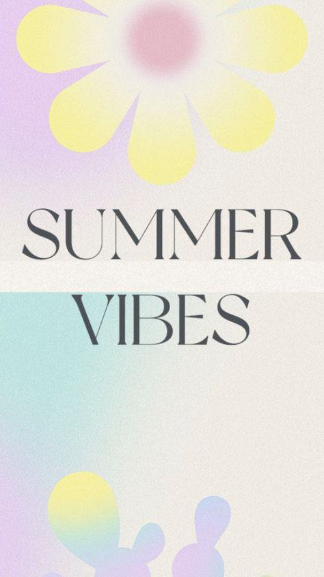 Gradient Summer Vibes