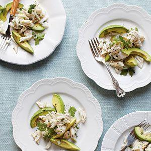 West Indies Crab Salad Recipe | MyRecipes.com