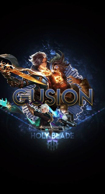 Wallpaper Phone Special Gusion Holy Blade By Fachrifhr