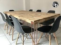 Image Result For Diy Dining Table Benches Out Of Scaffold Boards Hairpin Legs Wood Dining Table Hairpin Leg Dining Table Wood Dining Room