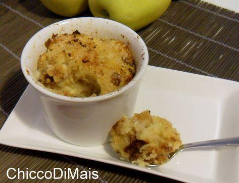 Budino di panettone alle mele ricetta del riciclo il chicco di mais http://blog.giallozafferano.it/ilchiccodimais/budino-di-panettone-alle-mele-ricetta-del-riciclo/