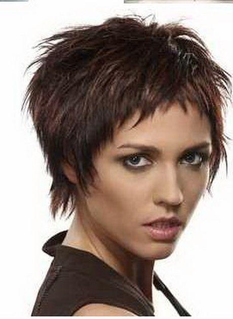 Flippige Kurzhaarfrisur Kurzhaarfrisuren Kurzhaarschnitte Haarschnitt Kurz